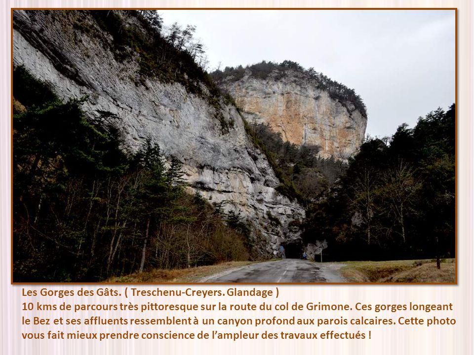 Les Gorges des Gâts. ( Treschenu-Creyers. Glandage )
