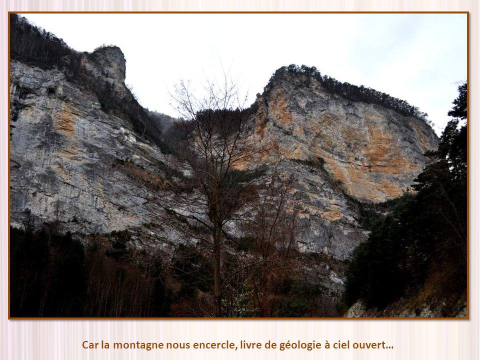 Car la montagne nous encercle, livre de géologie à ciel ouvert…