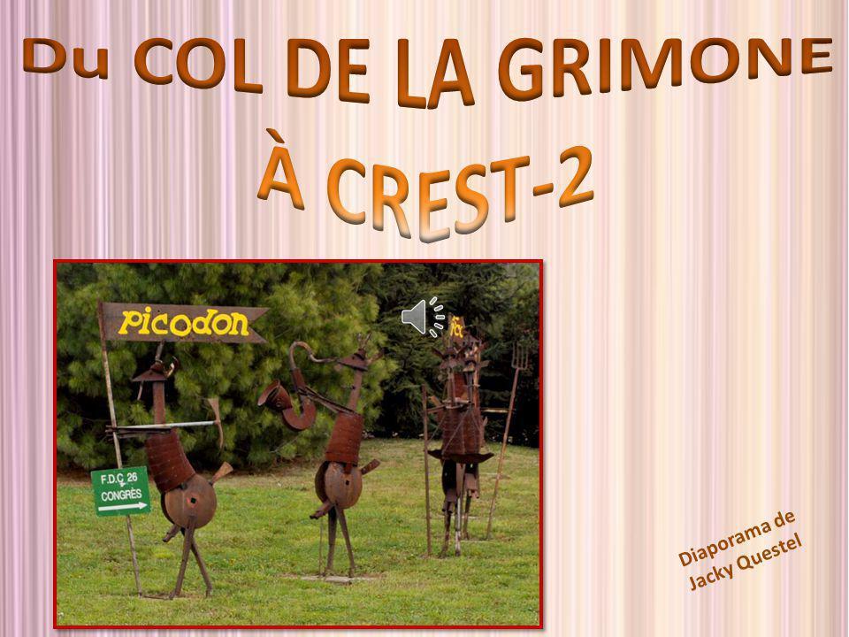 Du COL DE LA GRIMONE À CREST-2
