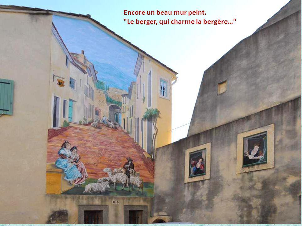Encore un beau mur peint.