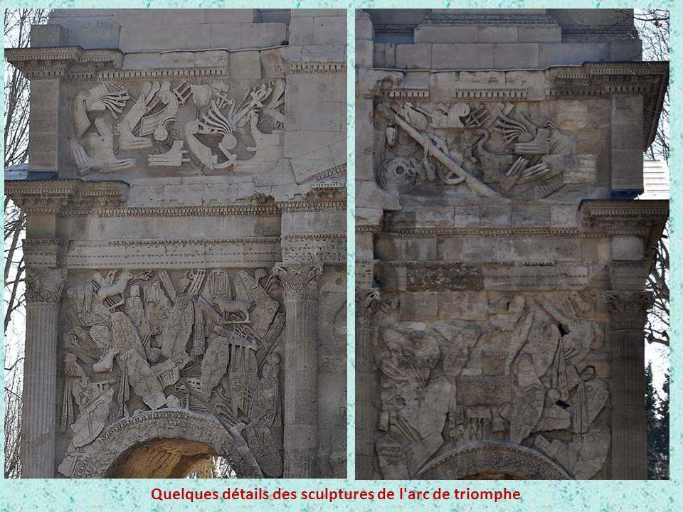 Quelques détails des sculptures de l arc de triomphe