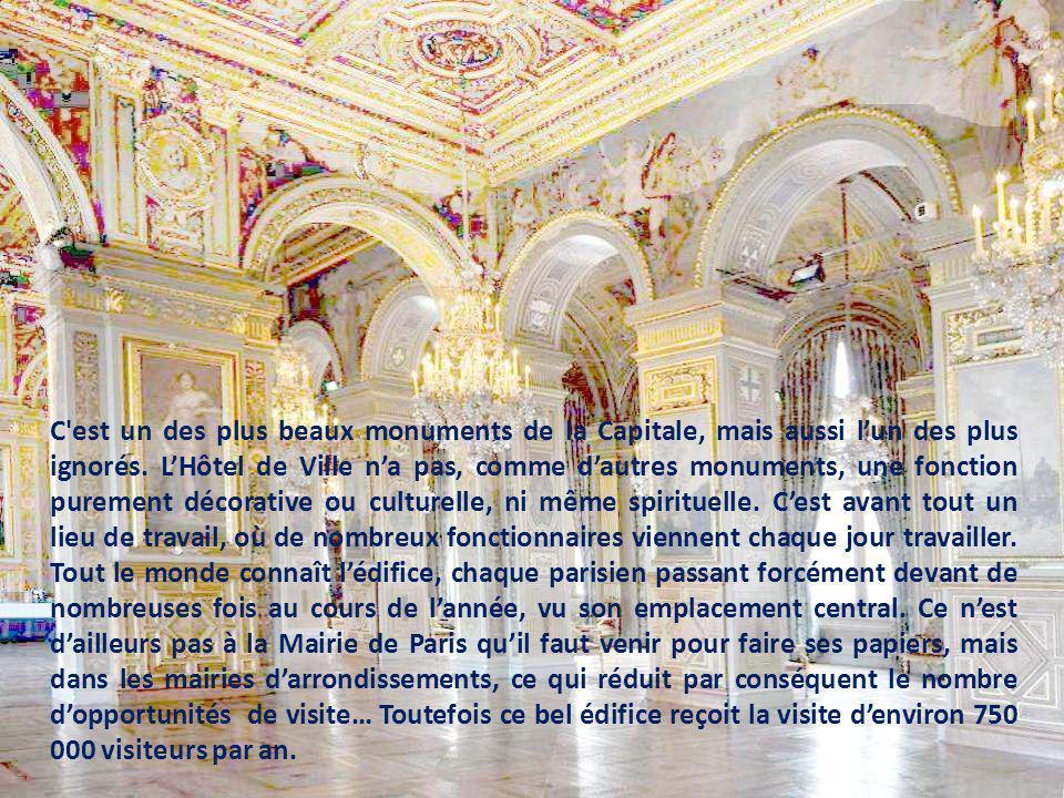 C est un des plus beaux monuments de la Capitale, mais aussi l'un des plus ignorés.