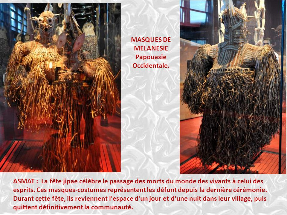 MASQUES DE MELANESIE. Papouasie. Occidentale.