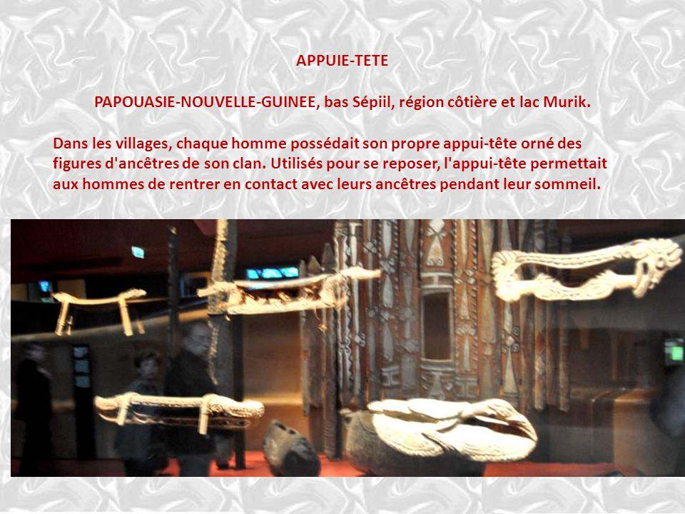 PAPOUASIE-NOUVELLE-GUINEE, bas Sépiil, région côtière et lac Murik.