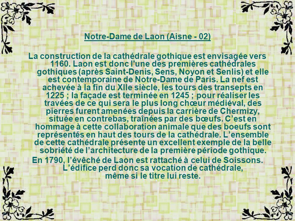 Notre-Dame de Laon (Aisne - 02)