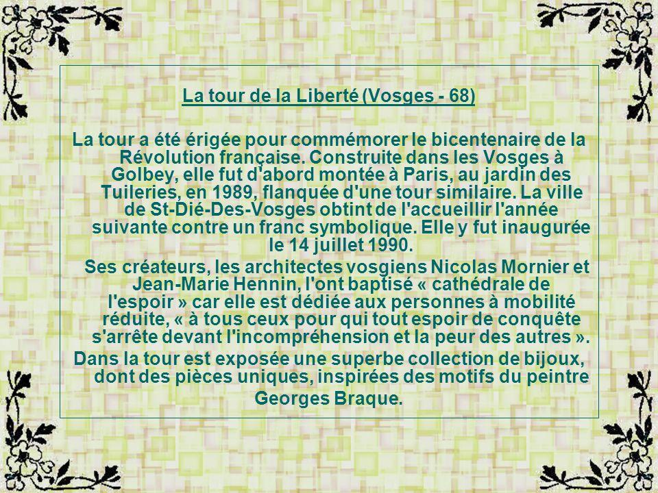 La tour de la Liberté (Vosges - 68)