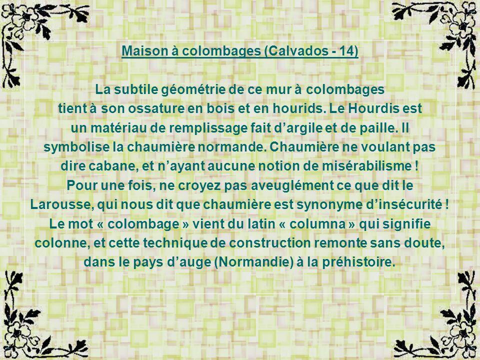 Maison à colombages (Calvados - 14)