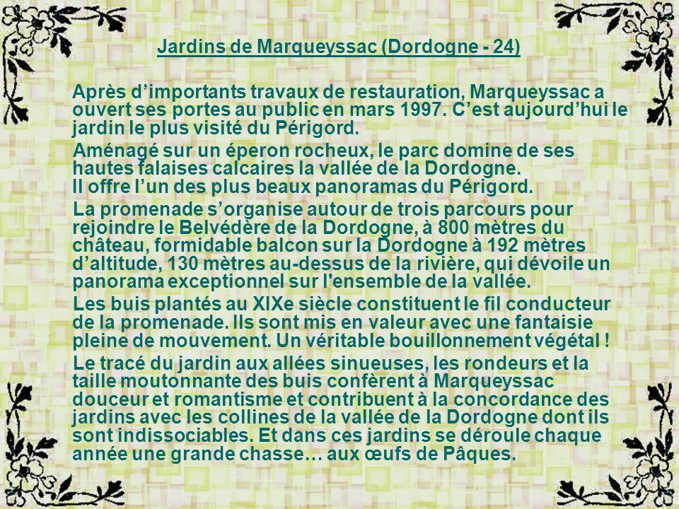 Jardins de Marqueyssac (Dordogne - 24)
