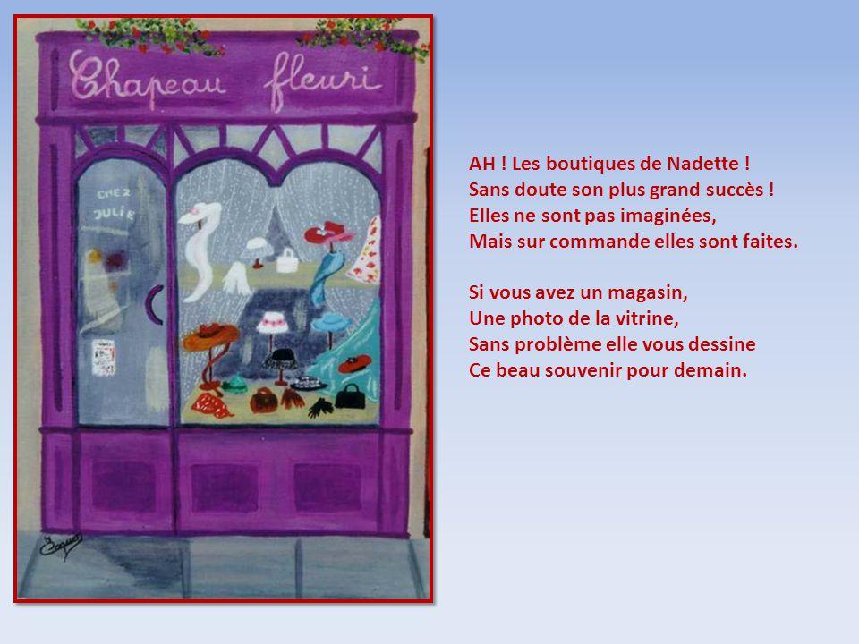 AH ! Les boutiques de Nadette !