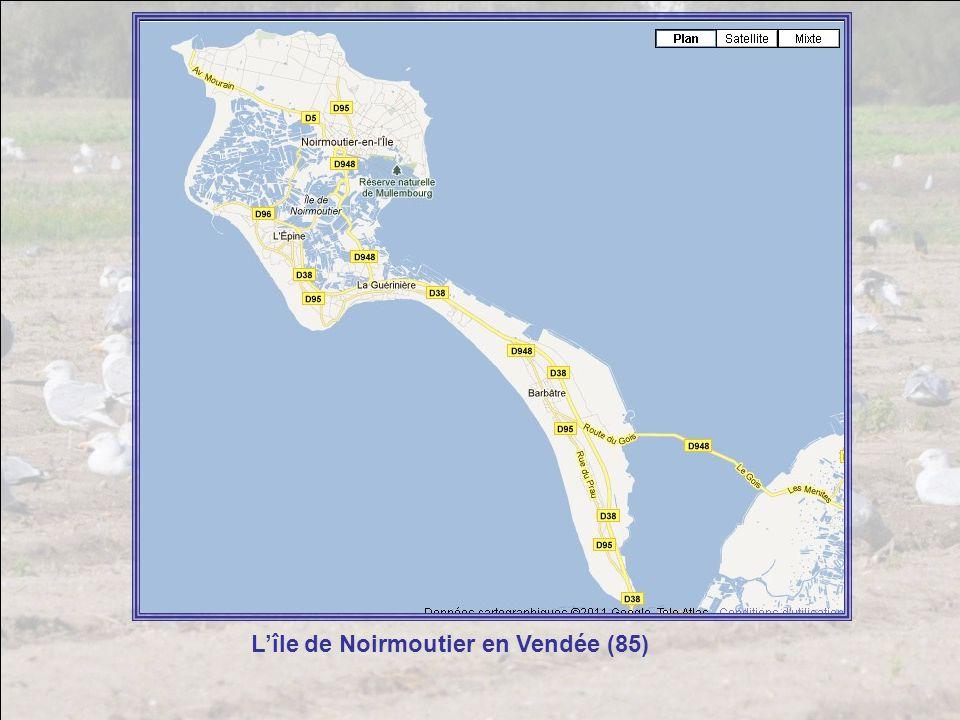 L'île de Noirmoutier en Vendée (85)