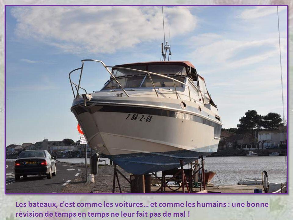 Les bateaux, c est comme les voitures… et comme les humains : une bonne révision de temps en temps ne leur fait pas de mal !