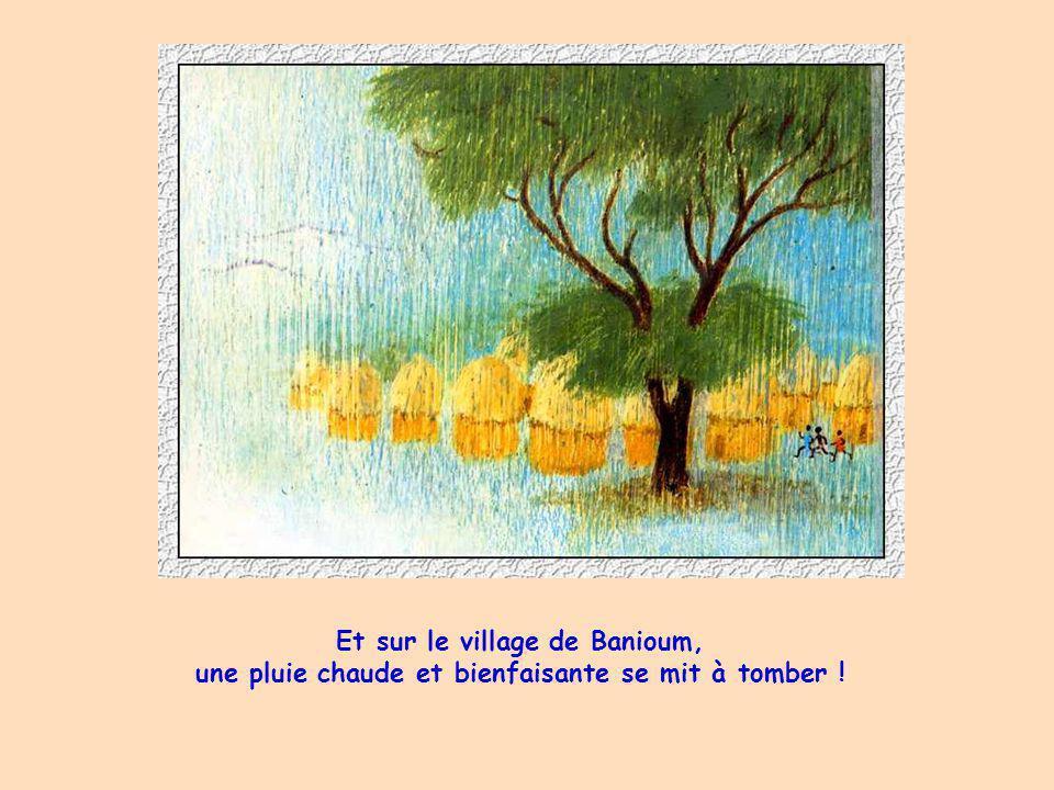 Et sur le village de Banioum,