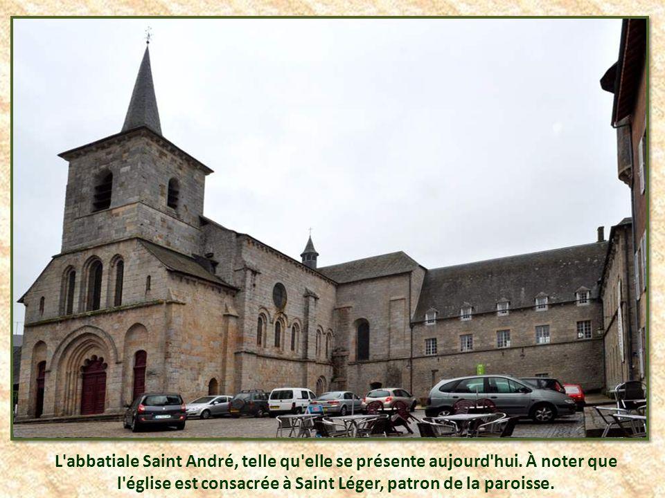 L abbatiale Saint André, telle qu elle se présente aujourd hui