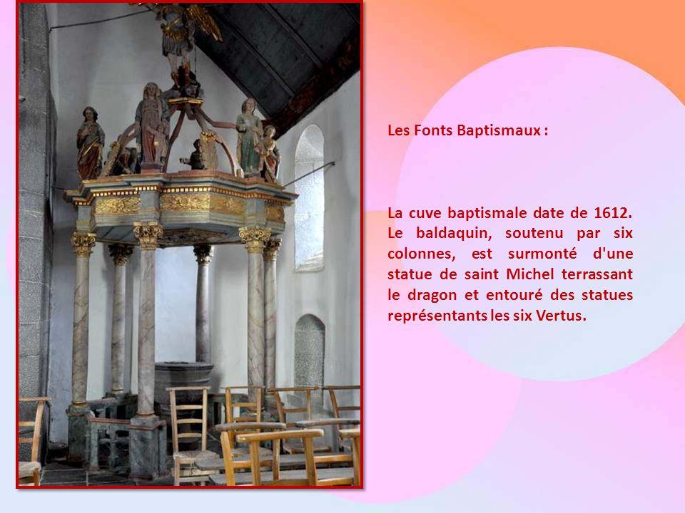 Les Fonts Baptismaux :