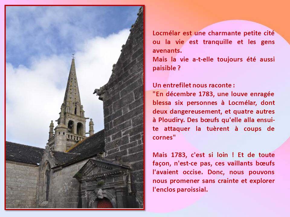 Locmélar est une charmante petite cité ou la vie est tranquille et les gens avenants.