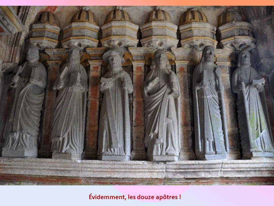 Évidemment, les douze apôtres !