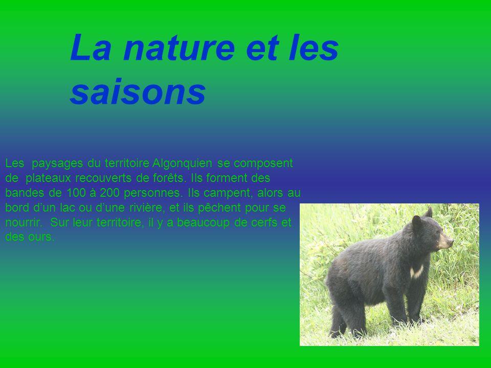 La nature et les saisons