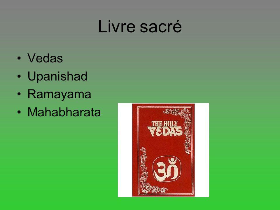 Livre sacré Vedas Upanishad Ramayama Mahabharata Images