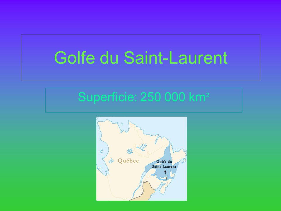 Golfe du Saint-Laurent