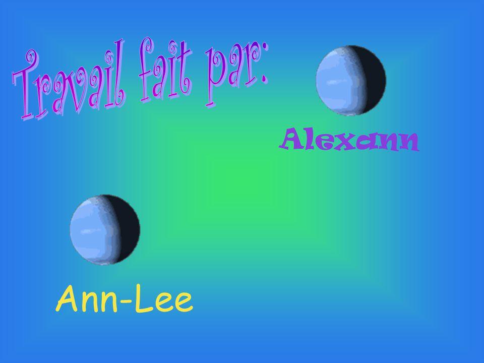 Travail fait par: Alexann Ann-Lee