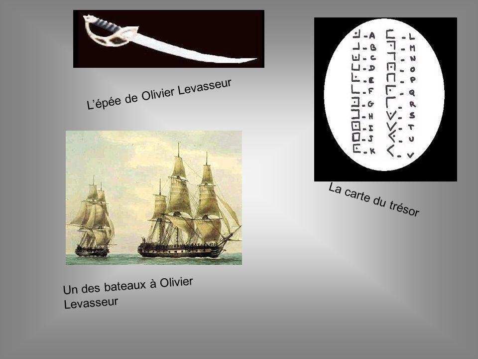 L'épée de Olivier Levasseur