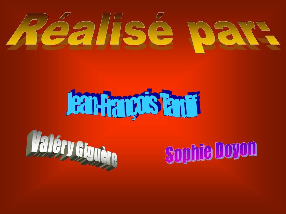 Réalisé par: Jean-François Tardif Valéry Giguère Sophie Doyon