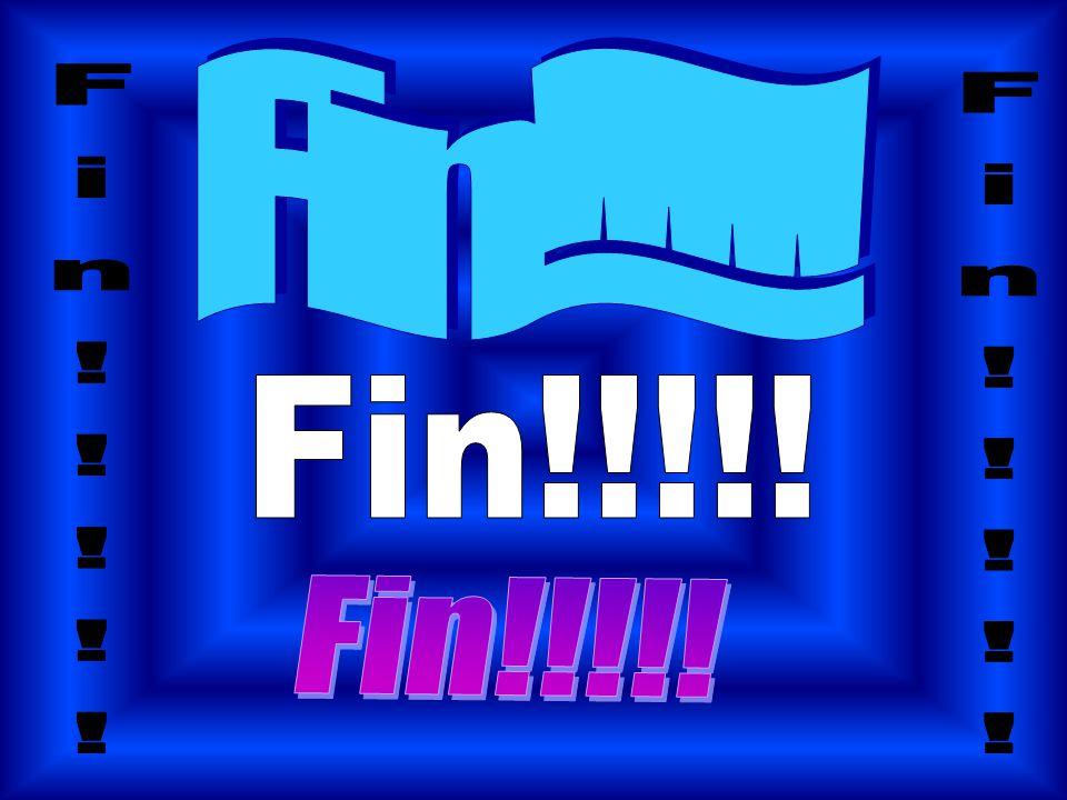 Fin!!!!! Fin!!!!! Fin!!!!! Fin!!!!! Fin!!!!!
