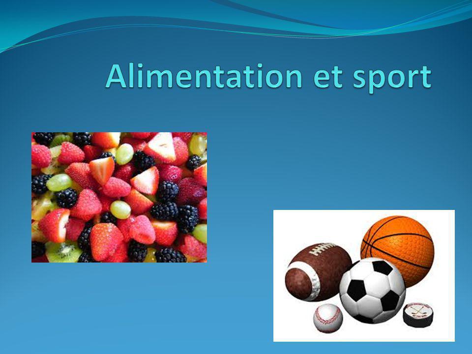 Alimentation et sport
