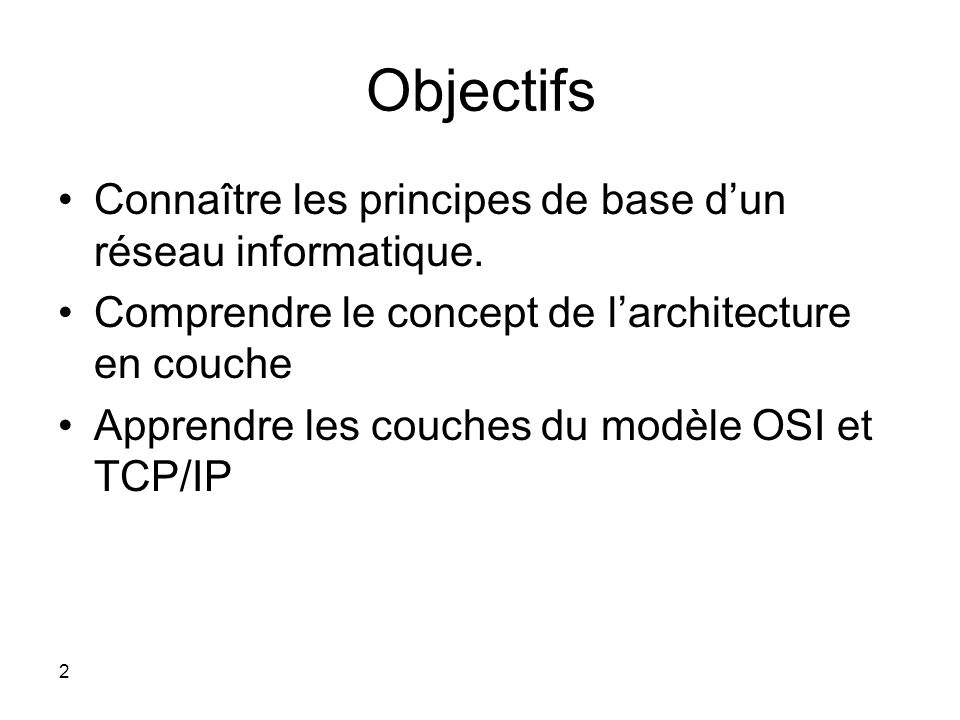 Gen raliti s sur les r seaux ppt t l charger for Definition architecture informatique