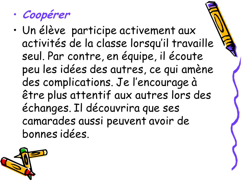 Coopérer