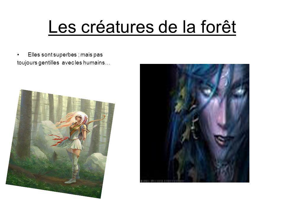 Les créatures de la forêt