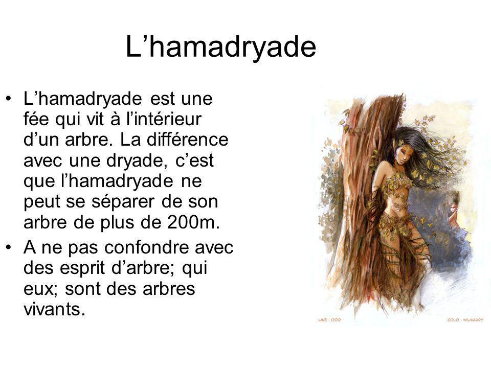 L'hamadryade