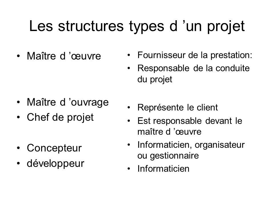 Conduite de projets informatiques ppt video online for Maitre oeuvre ou constructeur