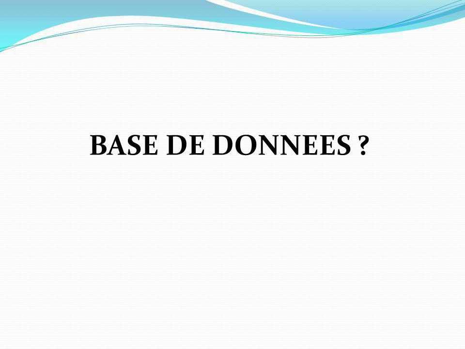 BASE DE DONNEES M.Youssfi : med@youssfi.net