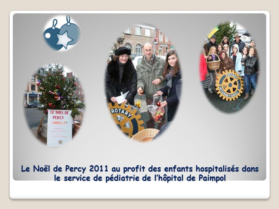 Le Noël de Percy 2011 au profit des enfants hospitalisés dans le service de pédiatrie de l'hôpital de Paimpol