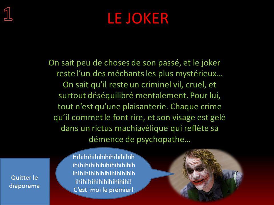 1 LE JOKER.