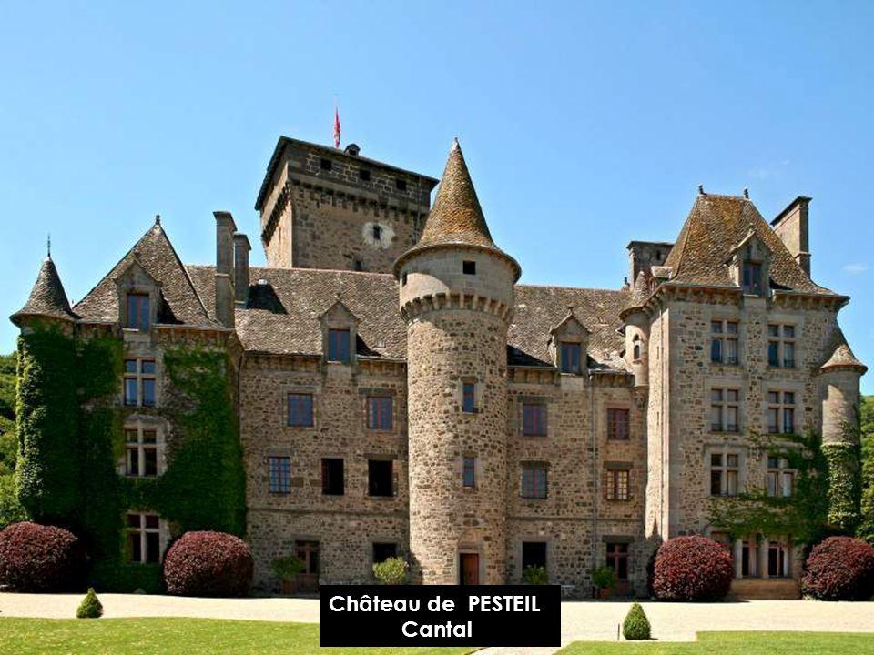 Château de PESTEIL Cantal
