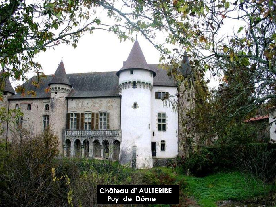 Château d' AULTERIBE Puy de Dôme