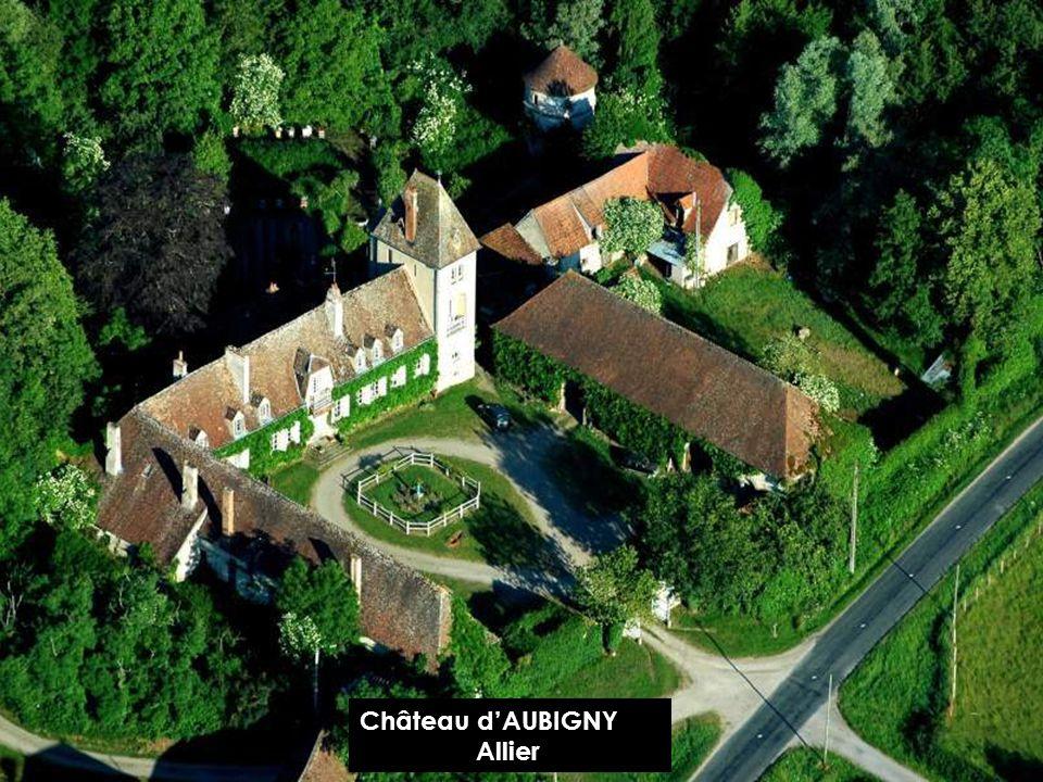 Château d'AUBIGNY Allier