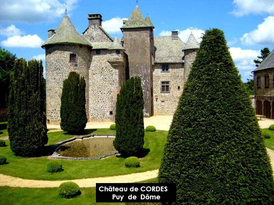 Château de CORDES Puy de Dôme