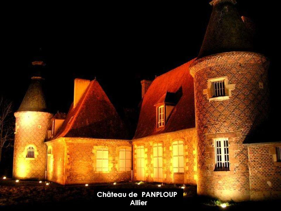 Château de PANPLOUP Allier