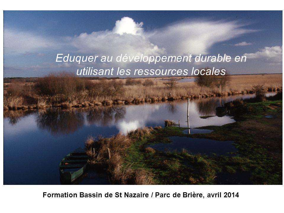 Formation Bassin de St Nazaire / Parc de Brière, avril 2014