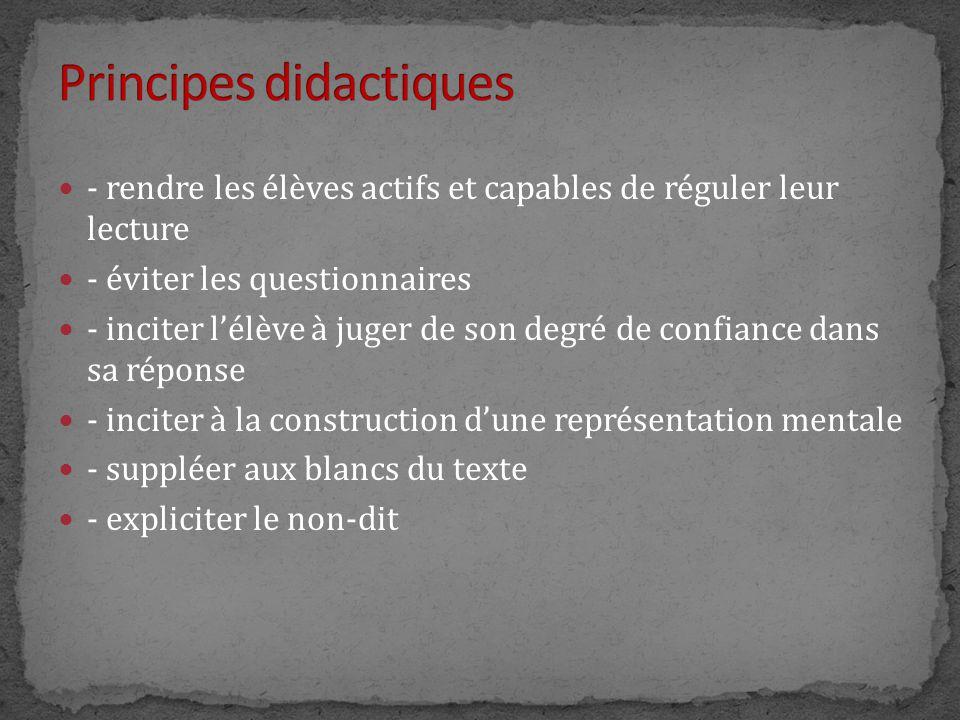 Principes didactiques