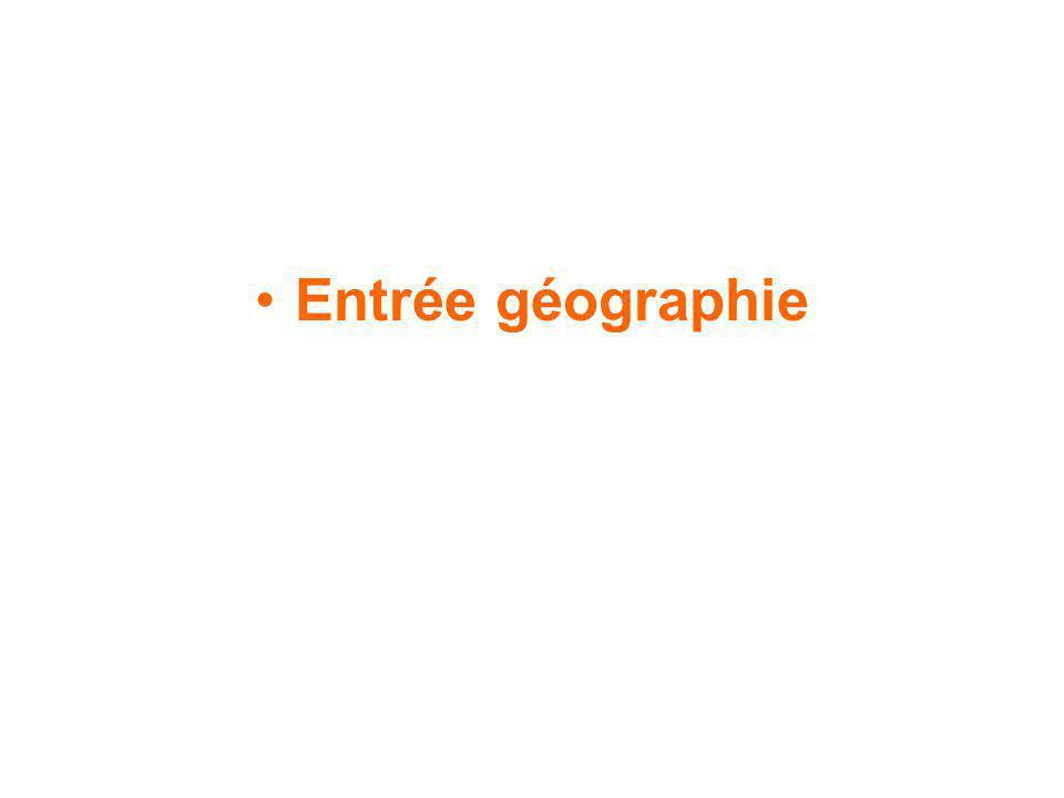 Entrée géographie