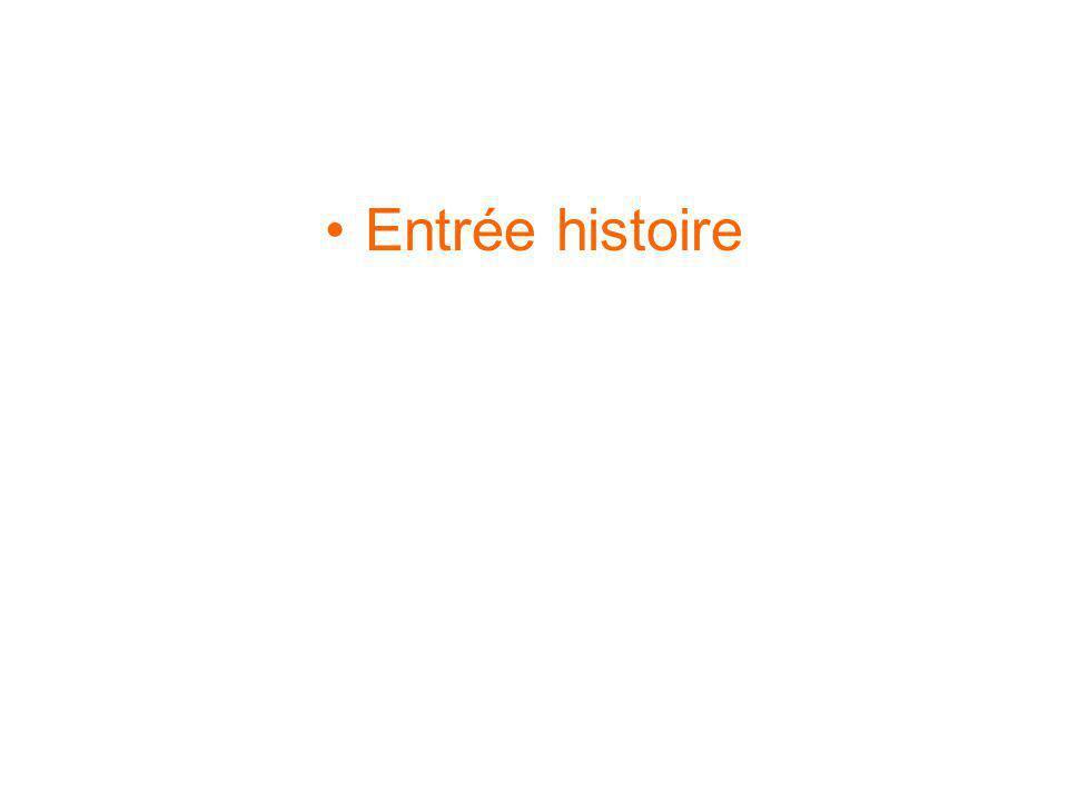 Entrée histoire