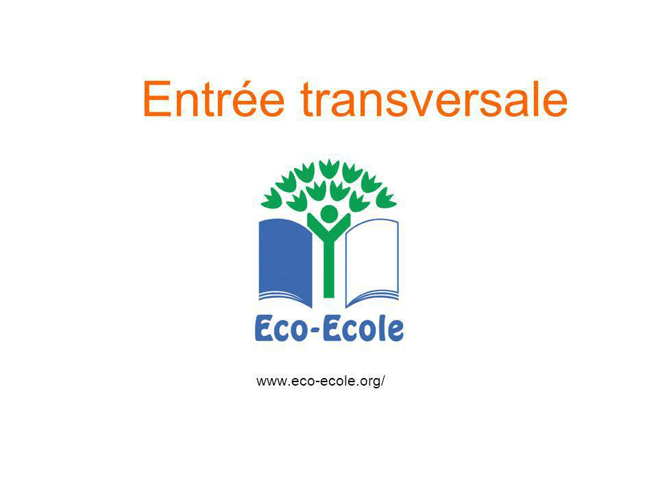 Entrée transversale www.eco-ecole.org/ 56
