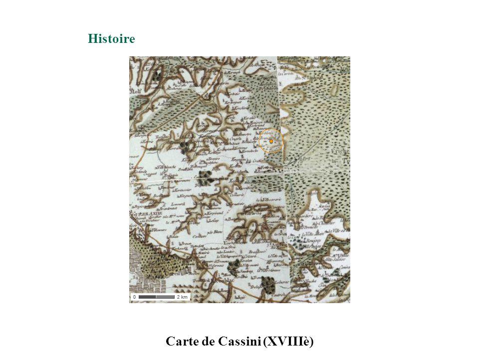 Carte de Cassini (XVIIIè)