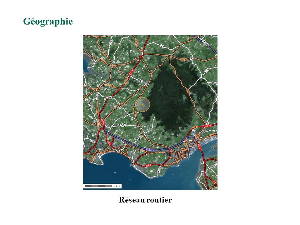 Géographie Réseau routier