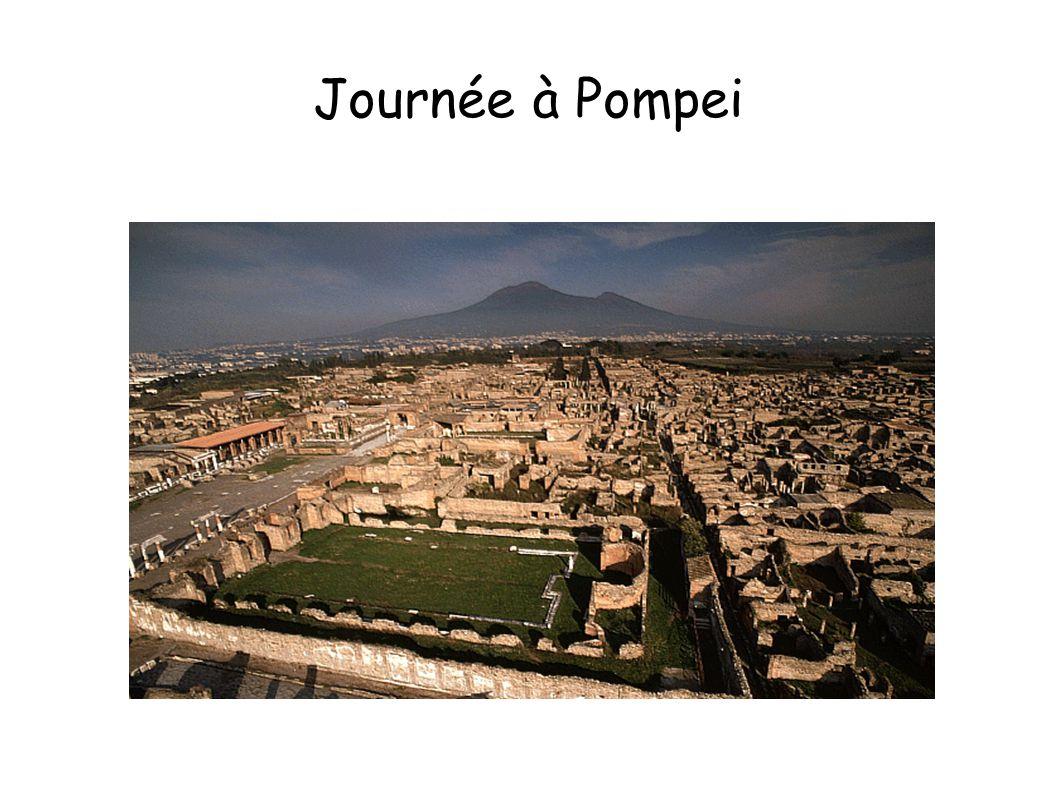 Journée à Pompei