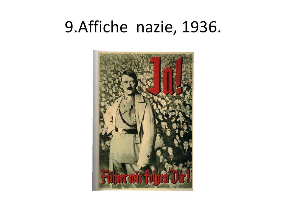 9.Affiche nazie, 1936.